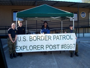 Support the Border Patrol Explorers.