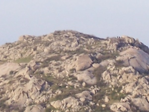 Cap Rock after- multiple spotters on the top