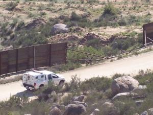 Bp patrols below 130 26MAR08. Great Fence, Eh?