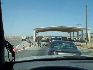 Salton Sea BP check point-headin' home 29MAR08