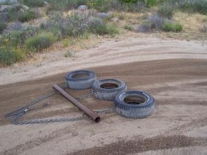 Using tires again