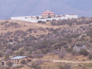 Mexican mansion south of Jacumba