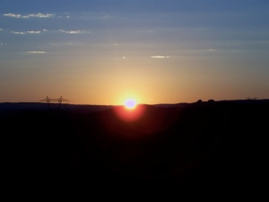 Sun up at the the Donut Hole 16JUN08