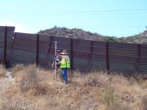 Surveyors just east of Tecate