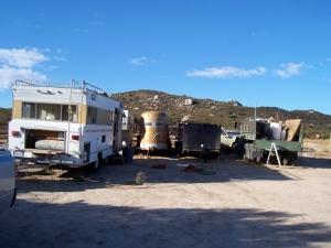 Remnants of Patriot Point at Horsepuckies ranch