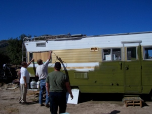 Painting the RV