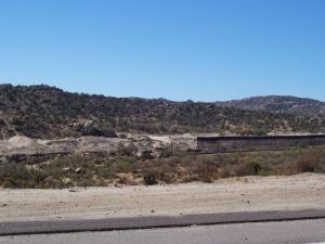 New fence west of Jacumba