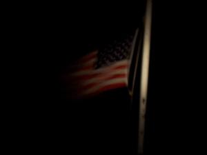 Flag at Patriot Point 8NOV08