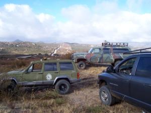 9NOV08 Preparing to relocate the Raptor and Godzilla