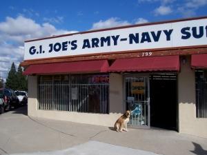 GI Joe's in El Cajon-1st stop
