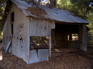 Old building in Hauser Canyon
