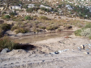 Smith canyon is wet but passable