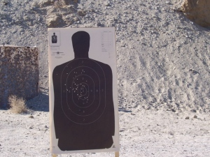 My .38 Special target