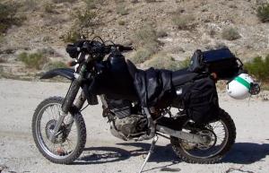 My scooter 2003 Honda XR400
