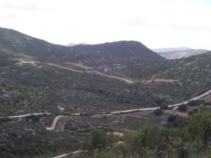 New Mexican roads south of ZHP