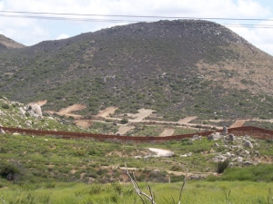 New roads and pads on the Pemex west of Cap Rock in Mexico
