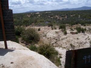 Gap just east of La Gloria