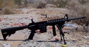 M4 w/flip up iron sight