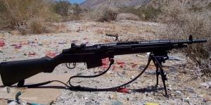 M1A w/iron sights