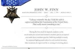 John Finn's Card