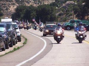 Finn motorcade