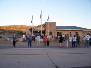 Public Vigil for Agent Rosas IV