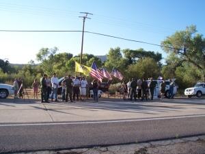 Public Vigil for Agent Rosas II