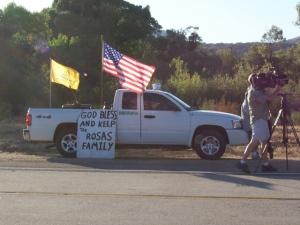 Public Vigil for Agent Rosas III
