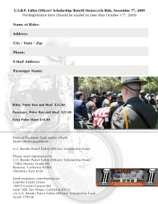 USBP Fallen Officer Ride entry