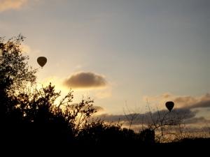 Balloons over McGonigle