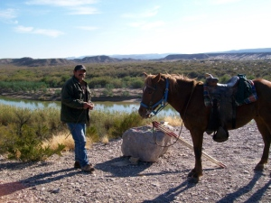 Jose and his horse