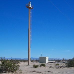 Border camera in San Luis, AZ