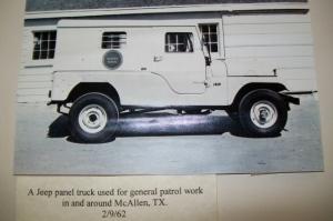 BP Jeep panel truck circa 1962