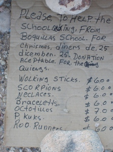 Price list (for the children, of course)