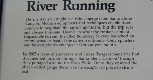 Santa Elena River Running