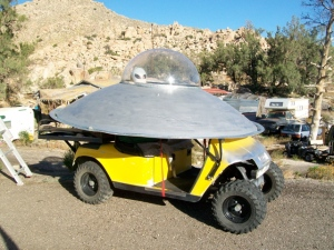 Alien ATV at the Valley of the Moon