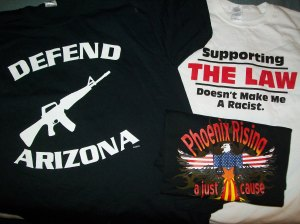 My Arizona BUYcott shirts