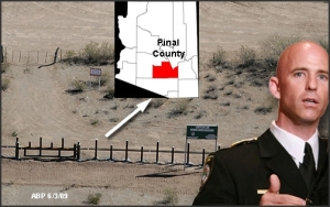 Sheriff Babeu says its an outrage that the Obmam administration stopped building the fence