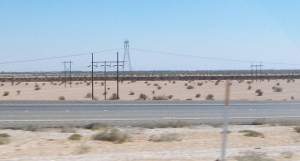 Imperial dunes fence