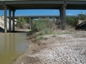 Santa Isabel creek looking north-easy access to 1472