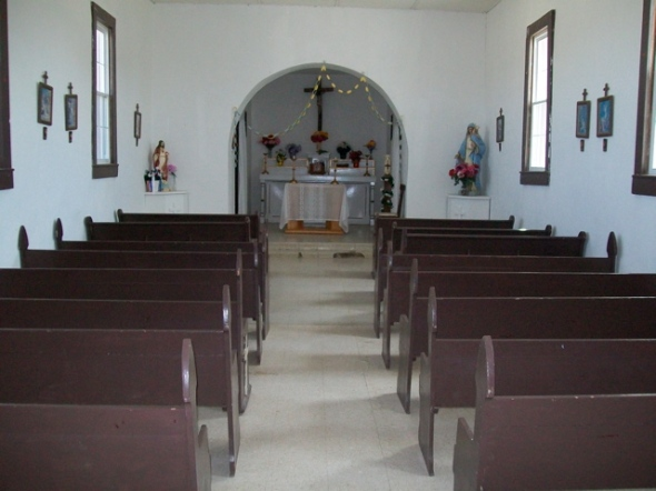 Candelaria Catholic Church-inside