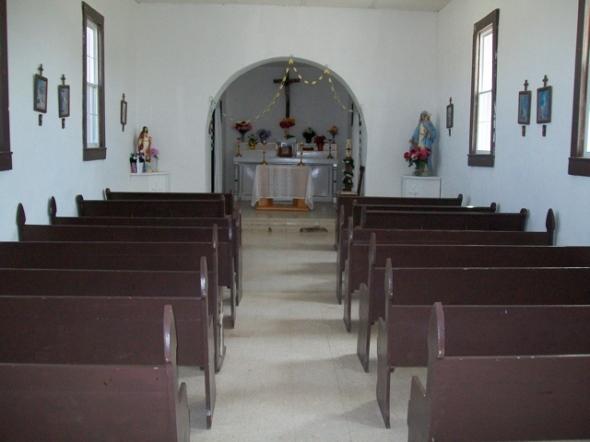 Candelaria Catholic Church-inside