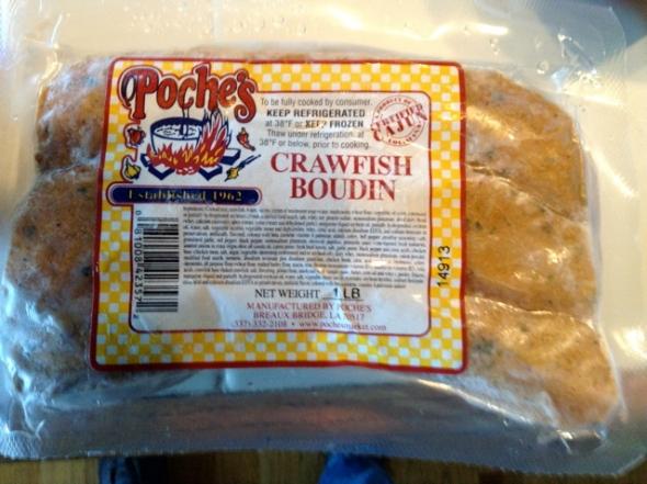 Crawfish Boudin  AAAYEEE