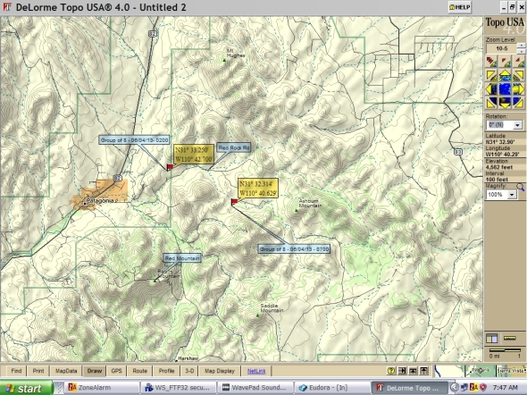 OTM incident map