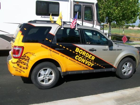 Border Convoy Lead Vehicle
