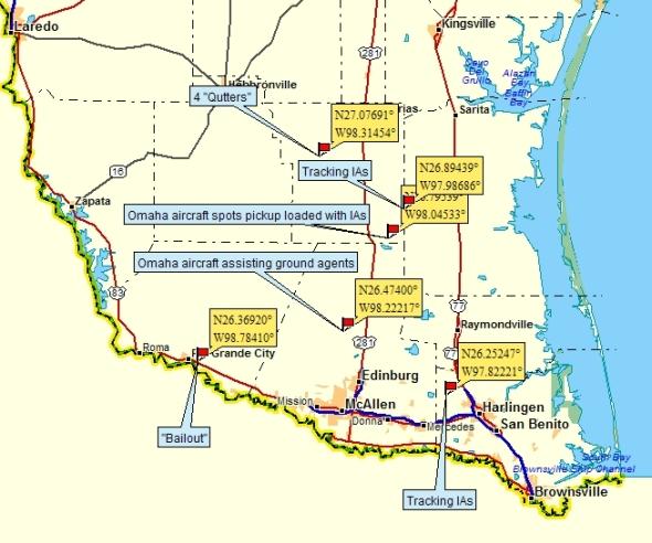 McAllen activity map 8:5:14