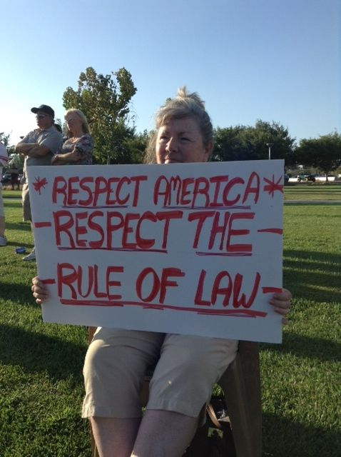Respect the law