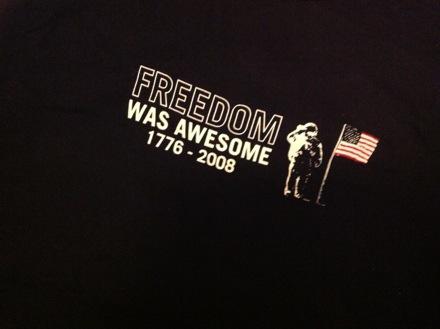 freedomwasawsome