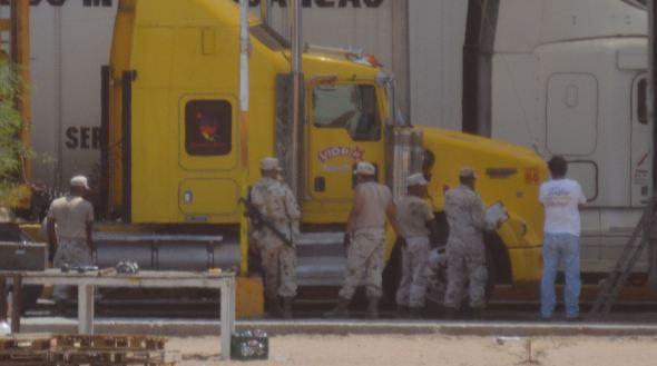 Mex Military checkpoint 1 6:15