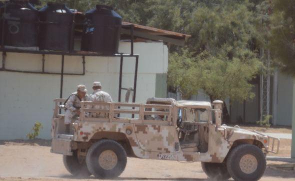 Mex Military checkpoint 2 6:15